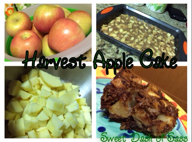 Harvest Apple Cake - www.SweetDashofSass.com