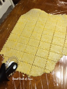 Homemade Cheese Crackers - www.SweetDashofSass.com  For this recipe and many others, check out and 'LIKE' Sweet Dash of Sass on Facebook and follow @SweetDashofSass on Instagram.