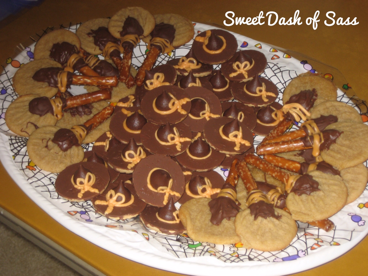 Halloween Witches Hats Treats Halloween Witches Hats