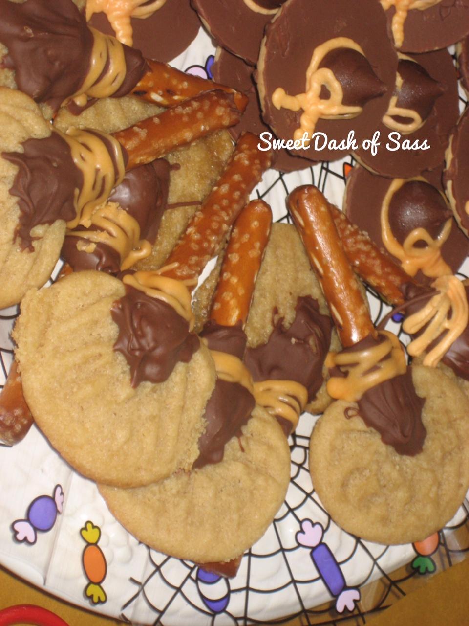Broomstick Cookies - www.SweetDashofSass.com