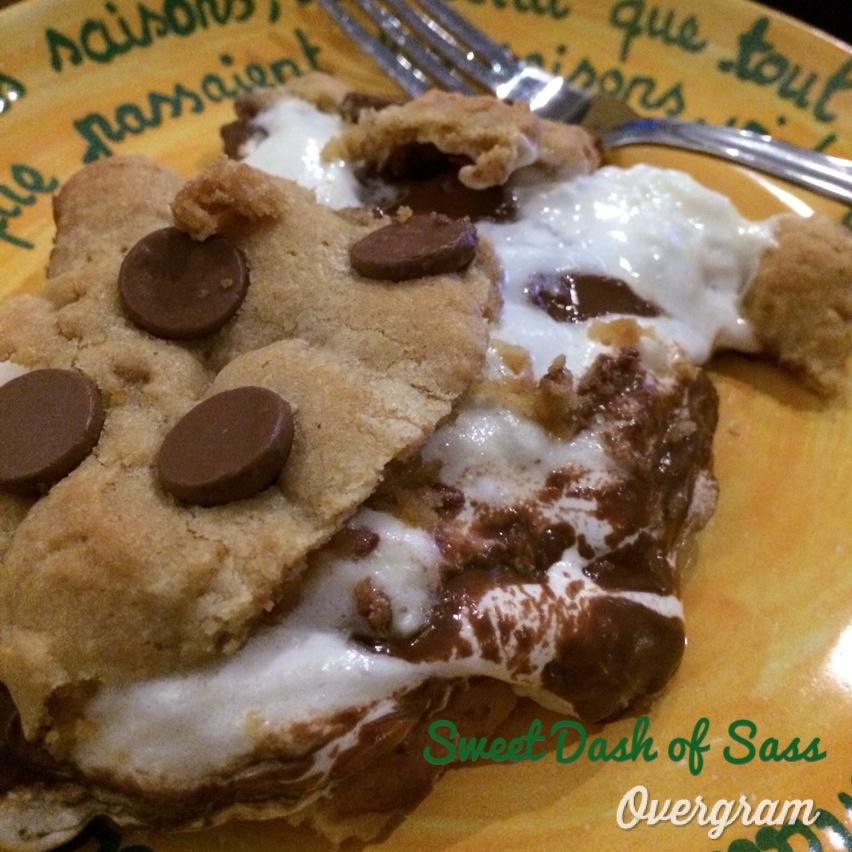 Smores Pie - www.SweetDashofSass.com