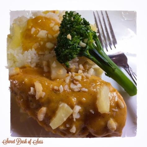 Hawaiian Honey Mustard Chicken - www.SweetDashofSass.com - Bringing the taste of Hawaii to the Mainland