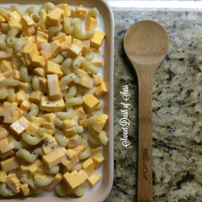 Grandma's Baked Mac & Cheese - Easiest and best homemade recipe.  www.SweetDashofSass.com