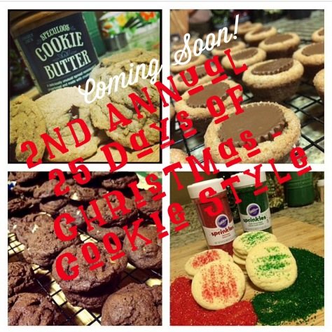 2nd Annual 25 Days of Christmas - Cookie Style - www.SweetDashofSass.com