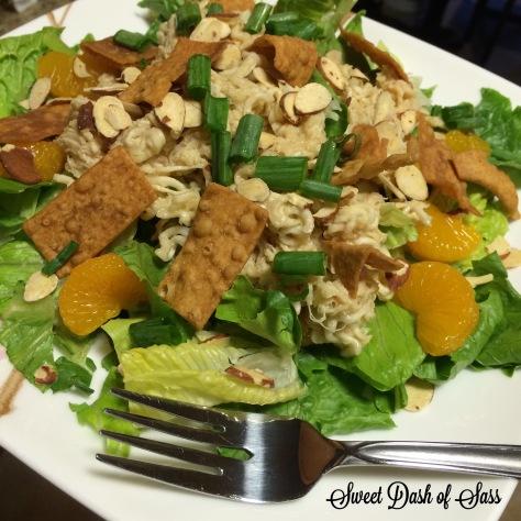 Aunt Laura's Oriental Chicken Salad