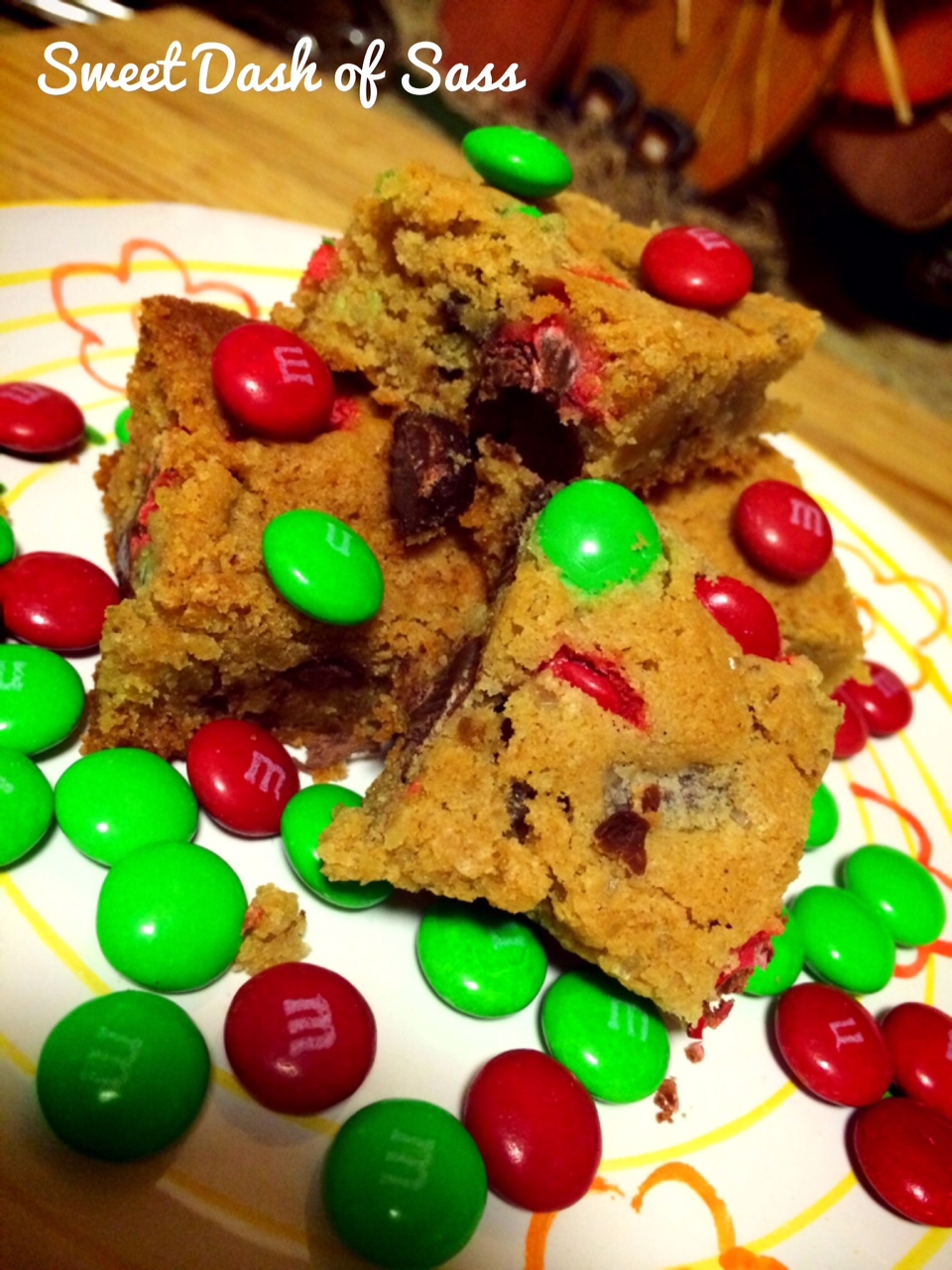 M&M bars- www.sweetdashofsass.com