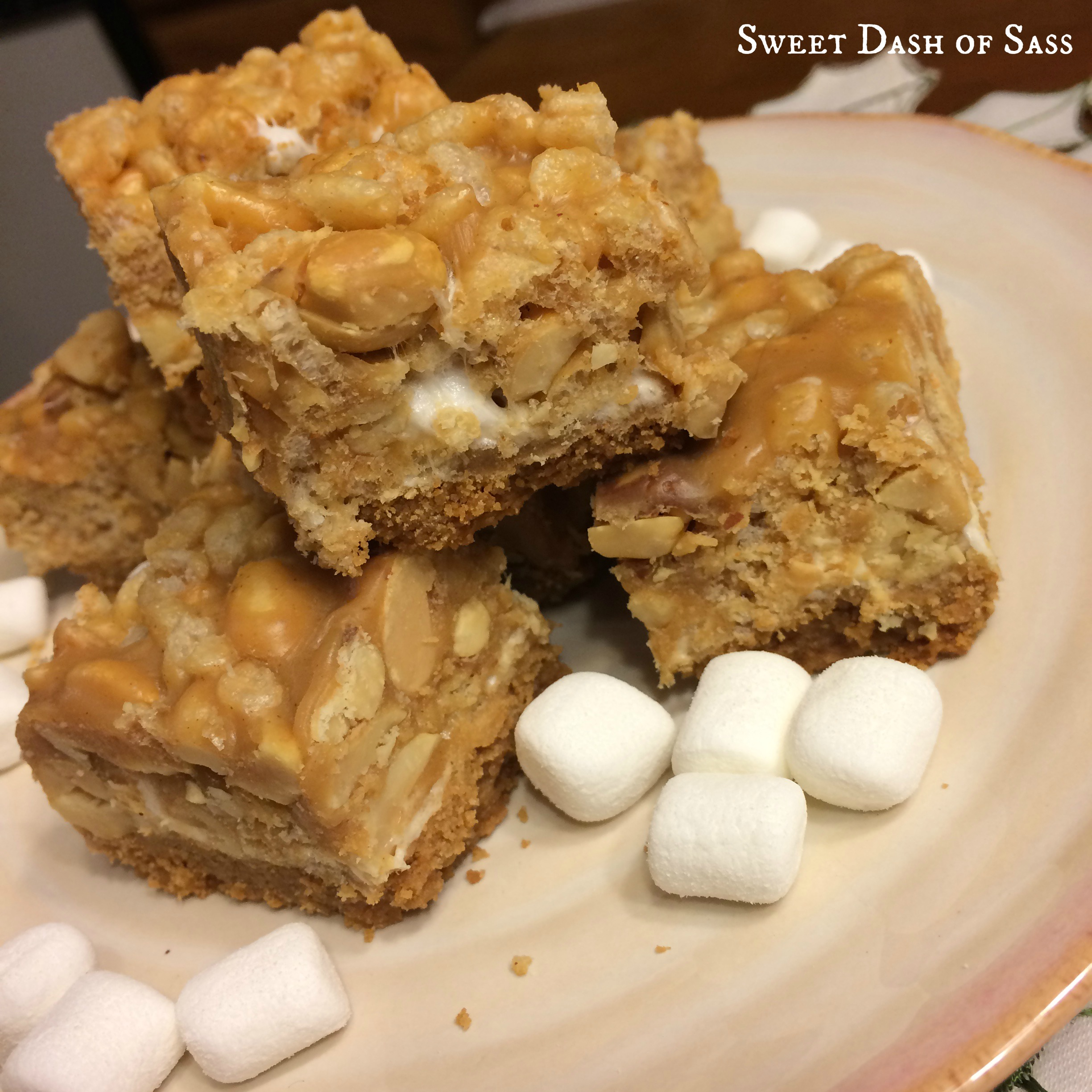 Salted nutty bars for Food bar recipes