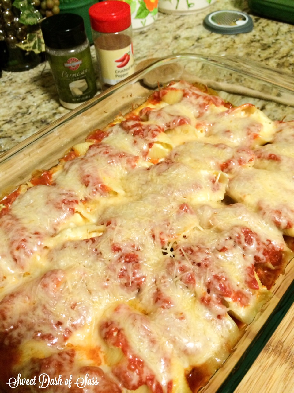 #10 Stuffed Cheesy Shells - www.SweetDashofSass.com